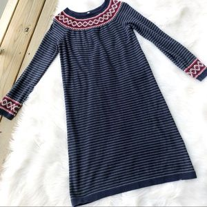 Hanna Andersson Striped Long Sleeve Pajama Dress